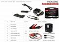 High Quality 12V Portable Emergency Car Battery Jump Starter 9