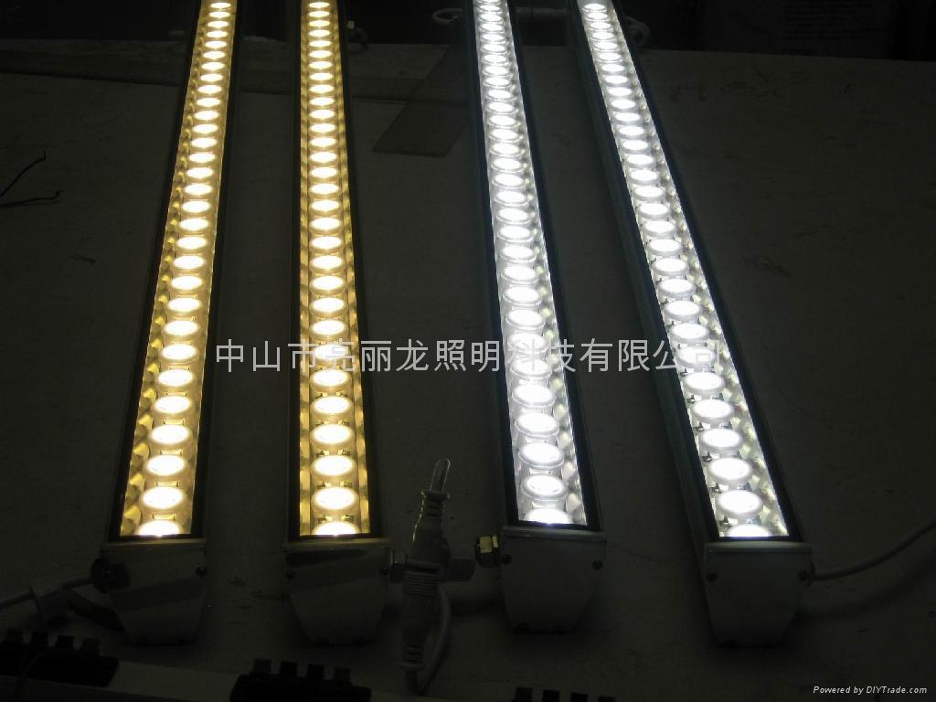 LED洗牆燈戶外防水洗牆裝飾燈線型投光燈亮麗龍照明 1