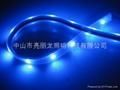 LED貼片燈帶七彩跑動戶外防水燈條IP65 4