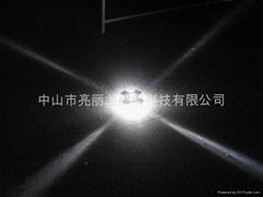 LED十字星光燈戶外牆壁燈寫字樓宇裝飾燈四面發光投射燈