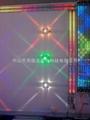LED十字星光燈戶外牆壁燈寫字樓宇裝飾燈四面發光投射燈 3
