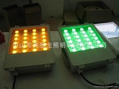 LED大功率投光灯户外工程射树灯投柱灯超高亮