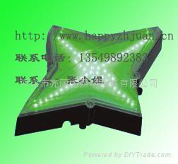 LED四角星點光源戶外牆面裝飾星光燈酒店點綴燈亮麗龍直供 3