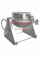 可傾式夾層鍋