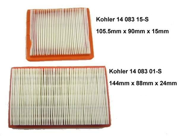 Air Filter Kohler 14 083 01-S