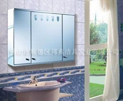 bathroom stainless steel mirror cabinet