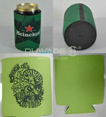 Neoprene can stubby collapse cooler holder