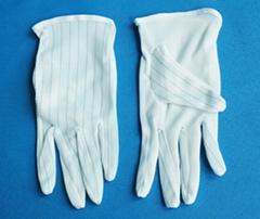 防靜電點塑手套
