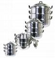 Aluminum steam pot