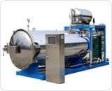 fully automatic side-spray sterilizering retort autoclave