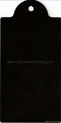 Matt Black Powder coating (SGS Certified)