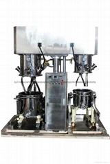 水凝胶双桶真空搅拌机