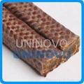 Braided Kynol fiber packing
