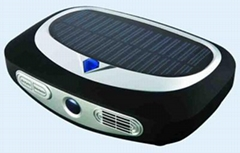 Solar Oxygen Bar on Car