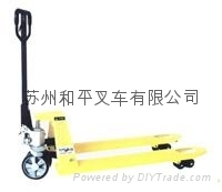廠家直銷手動叉車液壓托盤搬運車拖板車