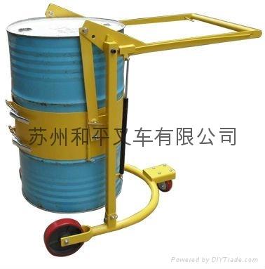 廠家直銷油桶搬運車倒油車機械式油桶車