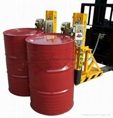 叉車專用重型雙桶四鷹嘴油桶夾具