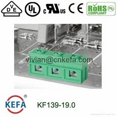 单线100A大电流螺钉式接线端子连接器