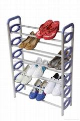 6 layer shoe rack