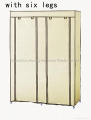 简易无纺布布衣柜(125cm宽)