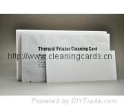 熱敏打印機清潔卡