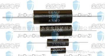 精密模压电阻器EE1/2 1