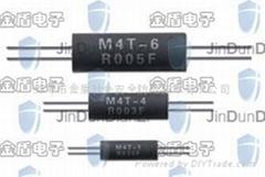 四端引线无感取样电阻器