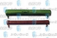 被釉线绕瓷管电阻器RX20 8w