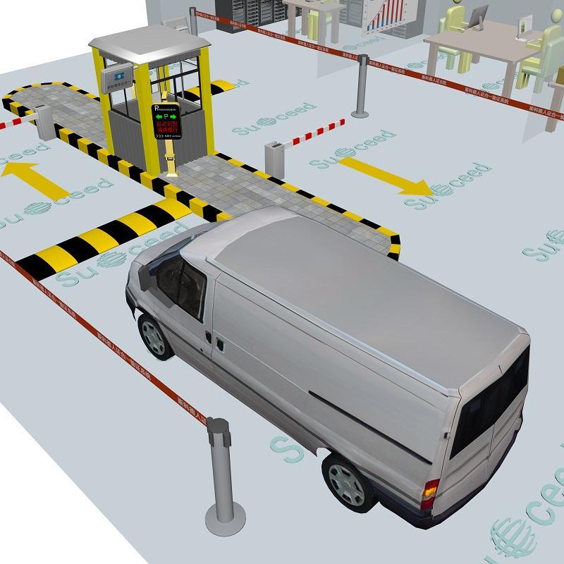 斯科德RFID車証+車牌抓拍不停車驗証 車証合一管理系統 1