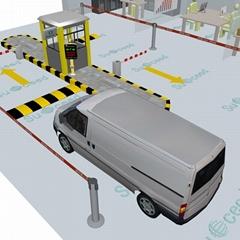 斯科德RFID車証+車牌抓拍不停車驗証 車証合一管理系統