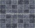 blue limestone mosaic