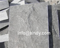 blue stone natural split surface wall