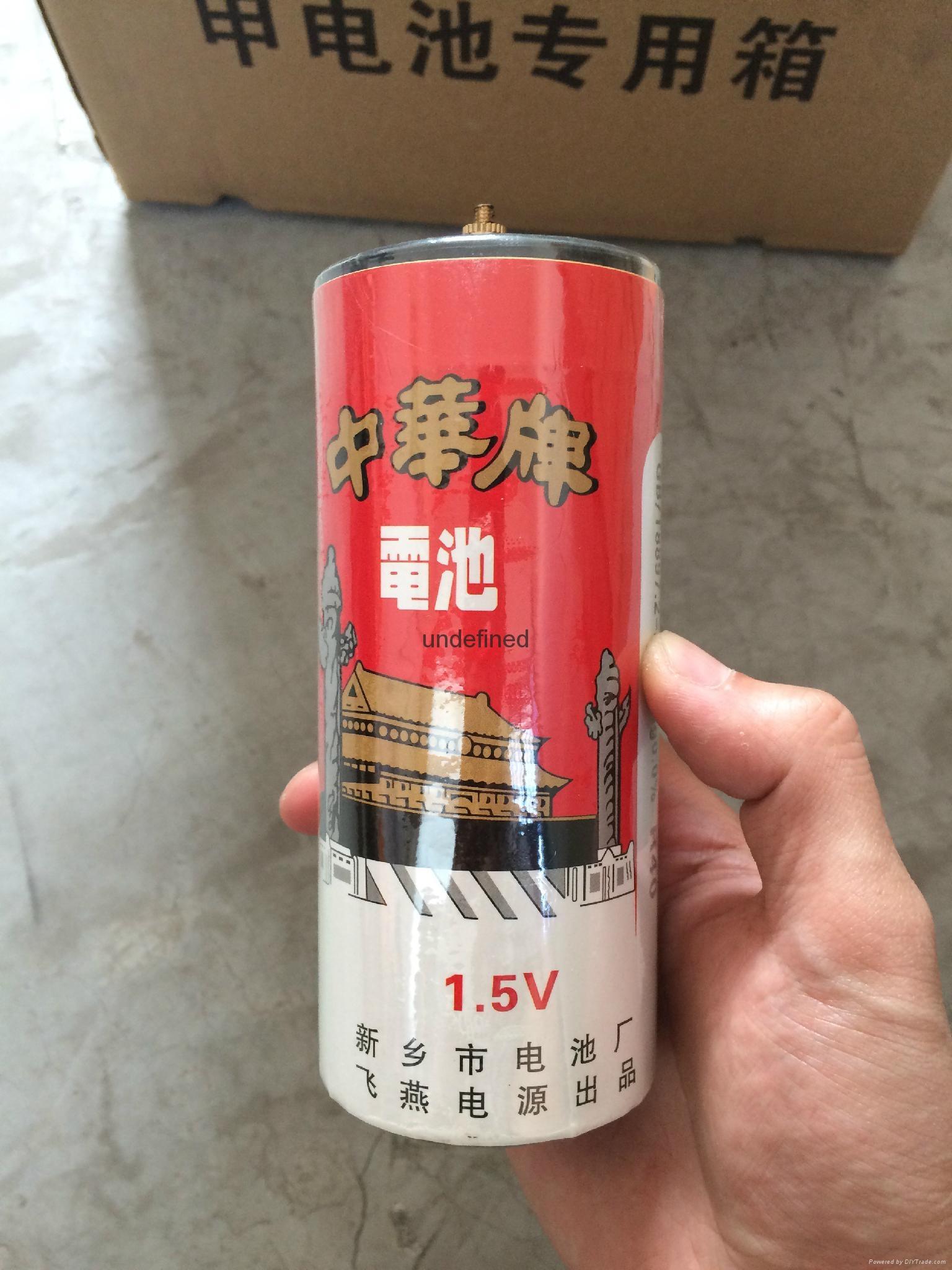 中华牌1.5V甲电池R40 3