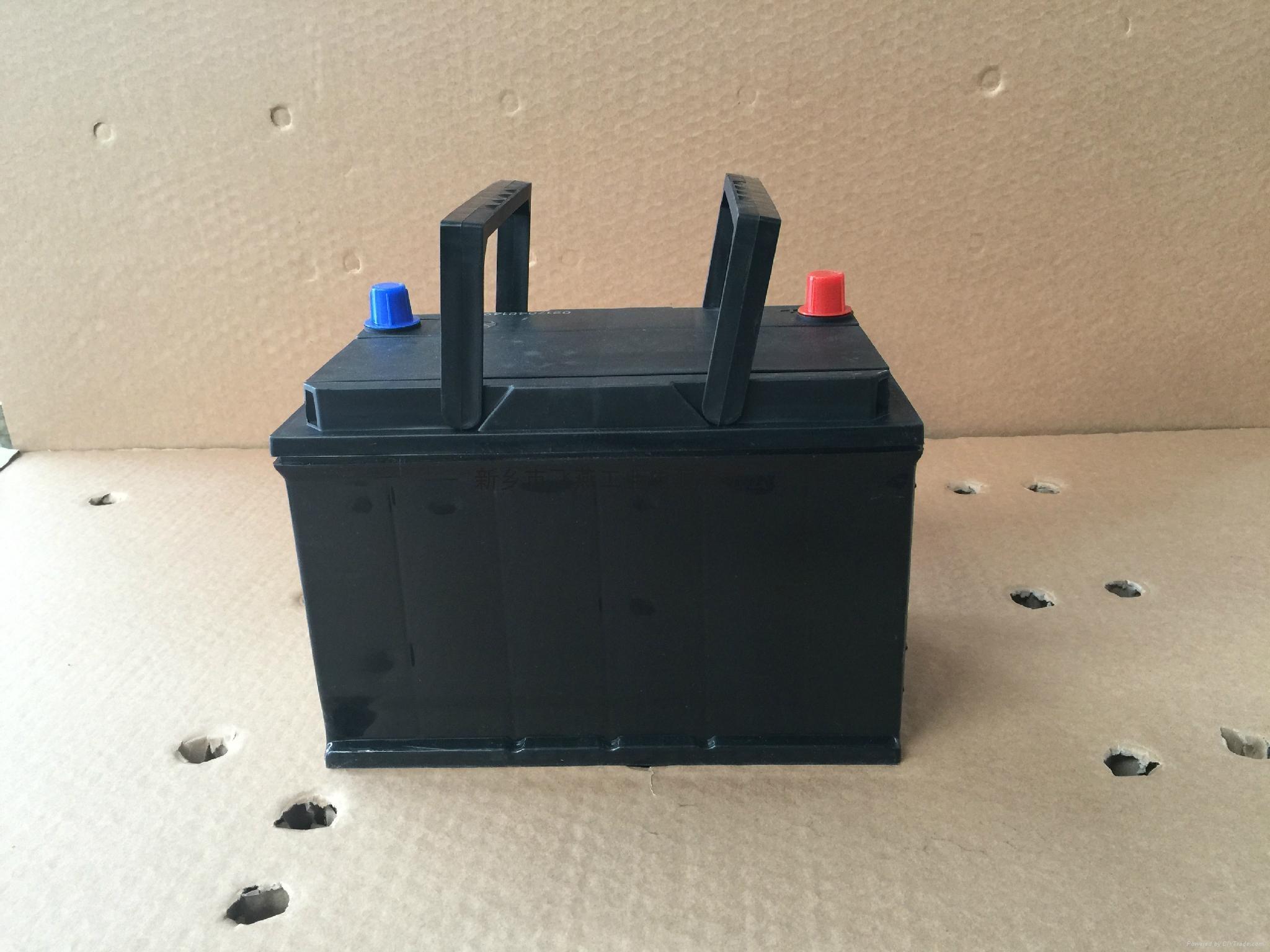 源頭工廠直銷12V65AH免維護鉛酸蓄電池汽車動力電池 1