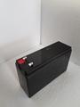 源头工厂直销12V5AH阀控密封式免维护铅酸蓄电池 2