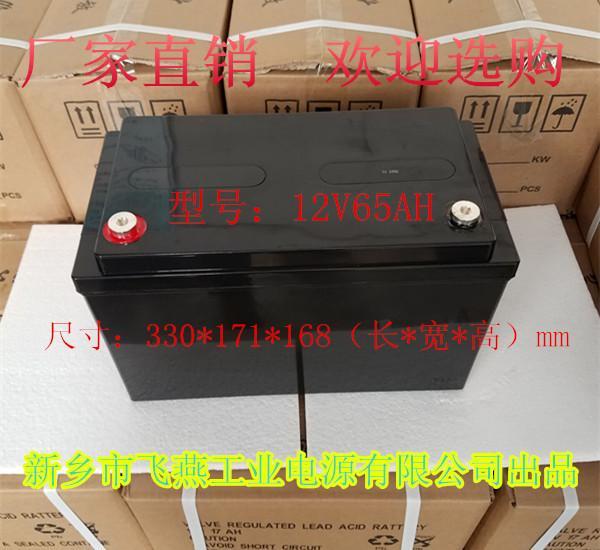 纳米高能胶体蓄电池12V65AH UPS发电厂储能电源 1