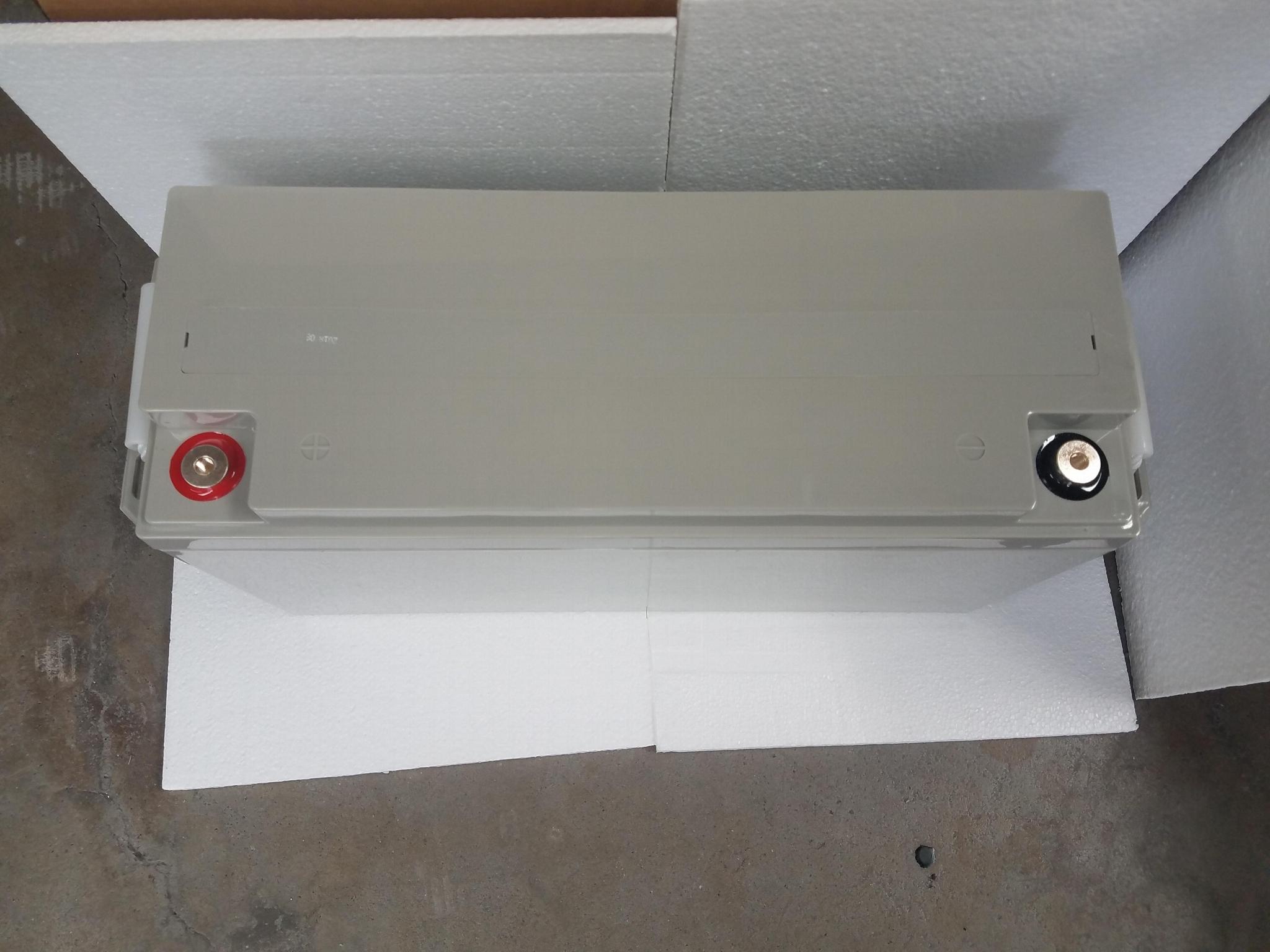 蓄电池工厂 12V150AH 免维护铅酸电瓶 太阳能储能足容量电池 3