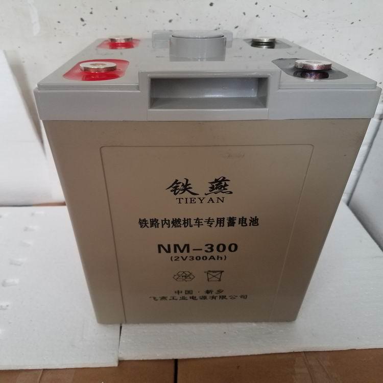 NM-300电池 铁燕牌 内燃机车专用免维护铅酸蓄电池 1