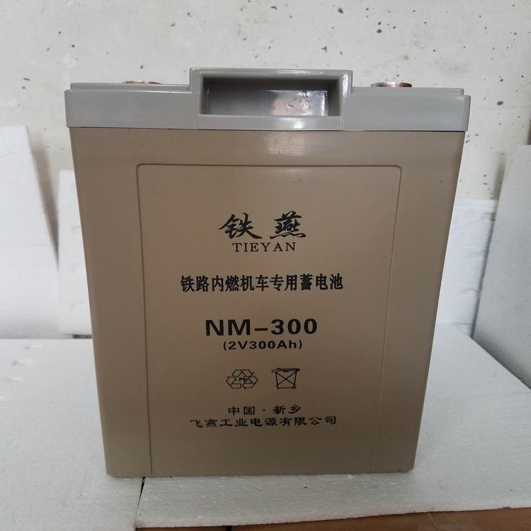 NM-300电池 铁燕牌 内燃机车专用免维护铅酸蓄电池 3