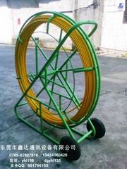 進口無碱玻璃鋼材質電纜管道穿線器