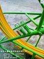 進口無碱玻璃鋼材質電纜管道穿線器 4