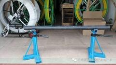 3螺旋电缆放线架电力放线工具