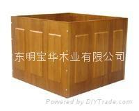 长期大量供应各种高质量木花盆