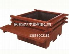 厂家精品供应各种高档木制花箱