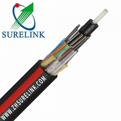Stranded Loose Tube Outdoor Aerial Armoured 12 Core Fiber Optic Cable GYFTY