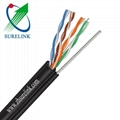 Cat5e FTP Outdoor Cable FTP Cat5e with Messenger FTP Cat5e/M