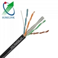Gel Filled or Jelly Filled Outdoor LAN Cable UTP CAT6