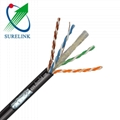 Gel Filled or Jelly Filled Outdoor Network Cable LAN Cable FTP CAT6