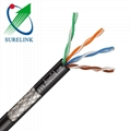 Outdoor Waterproof Twisted Pair Cat5e SFTP LAN Network Cable