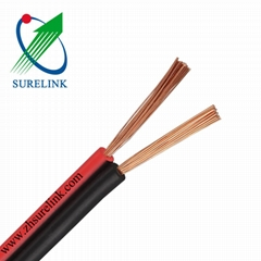 2X1.0mm 2X1.5mm Speaker Cable Audio Cable Red black Cable